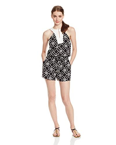 Alice & Trixie Women's Sasha Printed Silk Romper