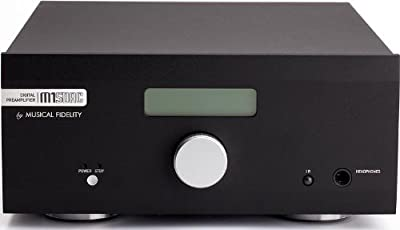 Musical Fidelity M1SDAC High-Performance 32-Bit DAC, ADC, Preamplifier and Headphone Amplifier (Black) from Musical Fidelity