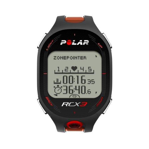 Polar RCX3 - Reloj deportivo (Negro, Naranja)
