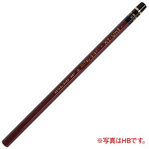 三菱鉛筆 鉛筆 ハイユニ 10B 12本入 HU10B