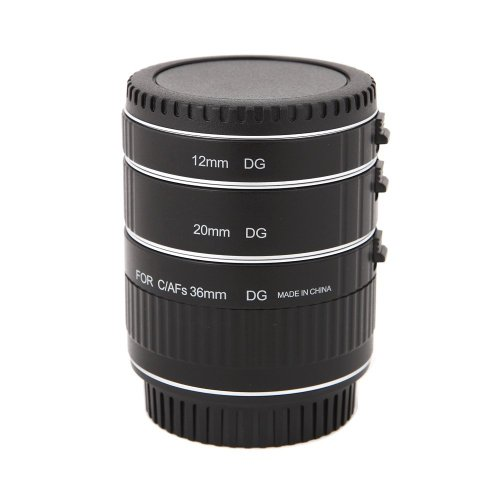 Mcoplus - Auto Focus Macro Extension Tube Set