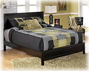 Black Queen Panel Bed By Ashley Furniture Kitchen Dining