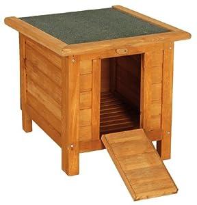 cabane en bois cosy pour lapin animalerie. Black Bedroom Furniture Sets. Home Design Ideas