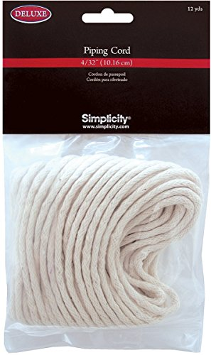 "Discover Bargain Simplicity Deluxe 4/32"" Piping Cord 12 yds"