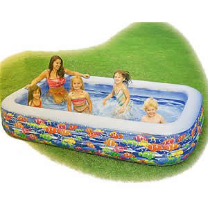 Intex Swim Center Family Pool (Colors and Styles May Vary)
