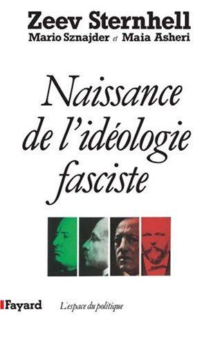 Naissance de l'idéologie fasciste