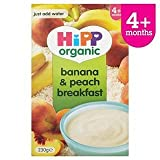 HiPP Organic Banana & Peach Breakfast 4+ Mths 230G