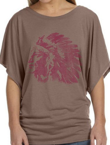 Native American - Ladies X-Large - Flowy Dolman