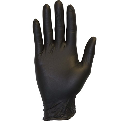 Black Nitrile Exam Gloves - Medical Grade, Disposable, Powder Free, Latex Rubber Free, Heavy Duty, Textured, Non Sterile, Work, Medical, Food Safe, Cleaning, Wholesale, Size Extra Large (Case of 1000) (Black Latex Gloves 1000 compare prices)