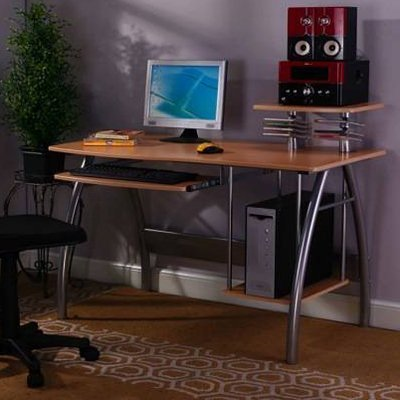 Buy Low Price Comfortable InRoom 2834 Computer Desk – Maple (B005S4MMTU)