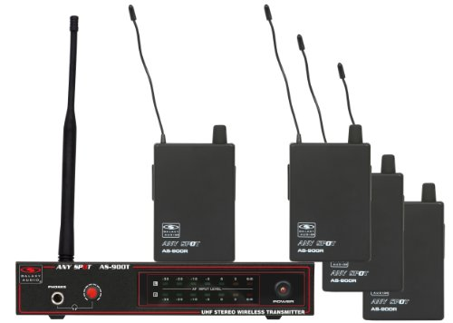 Galaxy As-900-4 4-Person Wireless In Ear Monitor System front-723782