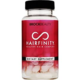 Hairfinity Hair Vitamins for Longer, Stronger, Faster Growing Hair - 1 Month Supply