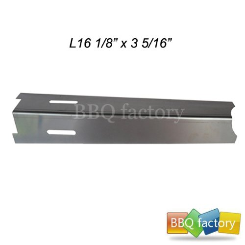 92411 Stainless Steel Heat Plate Replacement For Select Gas Grill Models By BBQ Grillware, Jenn-Air And Others