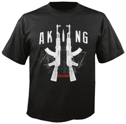 KOLLEGAH-AK-schwarz-T-Shirt