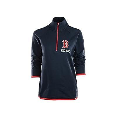 MLB Women's Showdown 1/4 Zip Sweater Bleacher Blue
