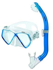 Mares Pirate - Juego de gafas y tubo de snorkel