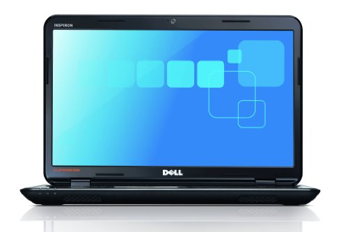 Dell Inspiron 15 15.6-inch Laptop (Black) (Intel Pentium P6200 2.13GHz, 4GB RAM, 500GB HDD, DVDRW, LAN, WLAN, Webcam, Windows 7 Home Premium 64-Bit)