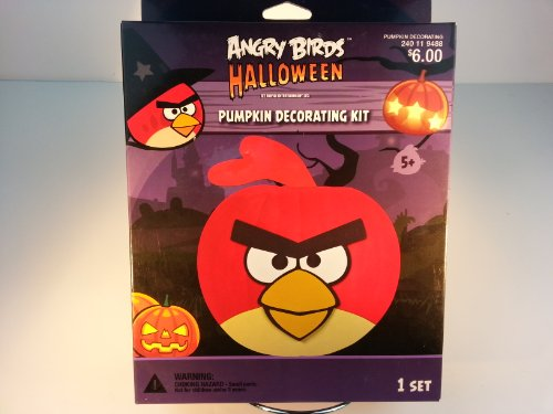 Angry Birds Pumpkin Decorating Kit front-831988