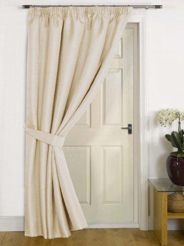 Canterbury Natural Thermal Door Curtain 56