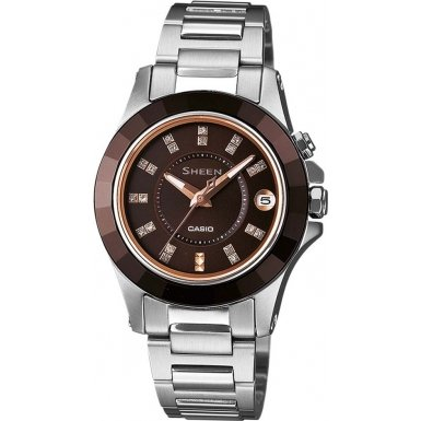 Casio Women's Watch XS Analogue Quartz Stainless Steel-She 4509SG - 5AER
