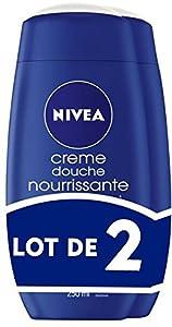 Nivea Bath Care Creme Douche Nourrissante 2 flacons de 250 ml