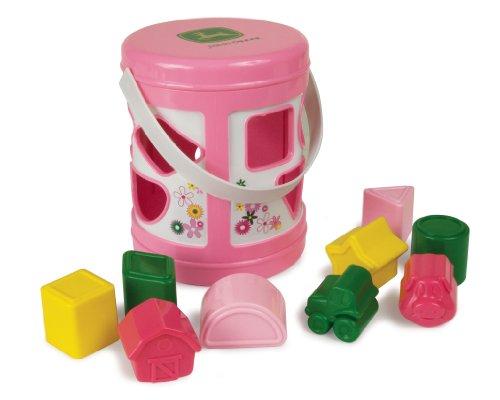 Ertl John Deere Shape Sorter, Pink