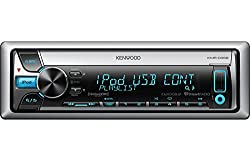 See Kenwood Marine CD Receiver with AM/FM Tuner with Built-In MOSFET Amplifier, plays CDs, CD-Rs, and CD-RW discs, Features Conformal-Coated PCB Circuit Board & Covered CD Slot Details
