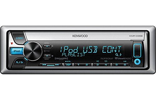 Kenwood KMR-D358 Marine CD Receiver with Font USB and AUX-IN