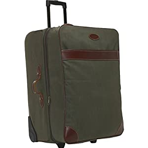 Boyt Harness Estancia Series Large Rolling Suitcase (Green)