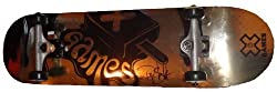 Ryan Sheckler Autographed 2012 X-Games Gold Foil Logo Skateboard Deck with Truck &amp; Wheels, Proof Photo