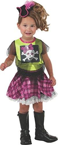 Rubie's Costume Baby's Punk Pirate Toddler Costume, Multi, Toddler