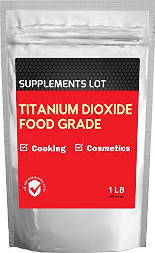 Titanium Dioxide TiO2 - Food Grade (1 lb)