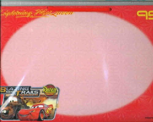 Disney Pixar The World of CARS Lightning McQueen Dry Erase Board