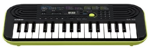 Black & Green Casio Sa-46 Mini Keyboard Mini Keyboard 32