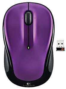 Logitech Wireless Mouse M325 with Designed-for-Web Scrolling - Vivid Violet (910-003120) from Logitech