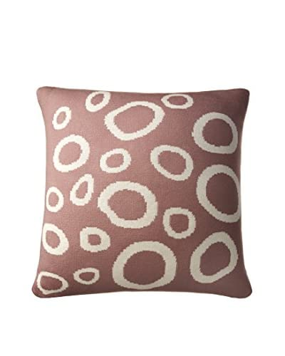 Amity Home  Gaitlin Pillow, Plum/Ivory, Pillow