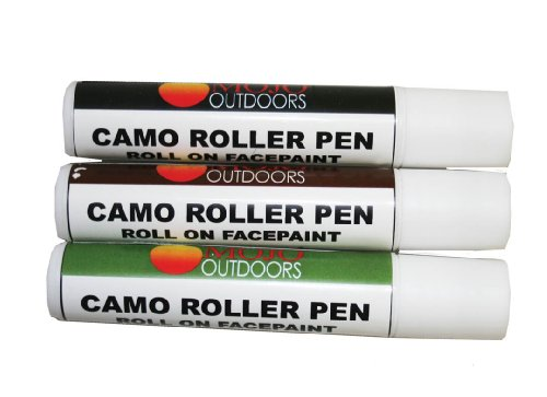 Mojo Decoys Camo Roller Pen (Pack of 3)