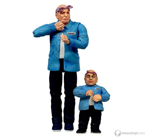 Buy Low Price Mezco Austin Powers Prison Dr. Evil & Mini Me Figure (B0010Z3XE4)