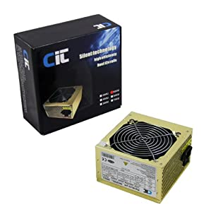 CIT 550W Gold 12Cm Silent Atx Power Supply
