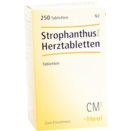 HEEL STROPHANTHUS COMP.Herztabletten 250 St
