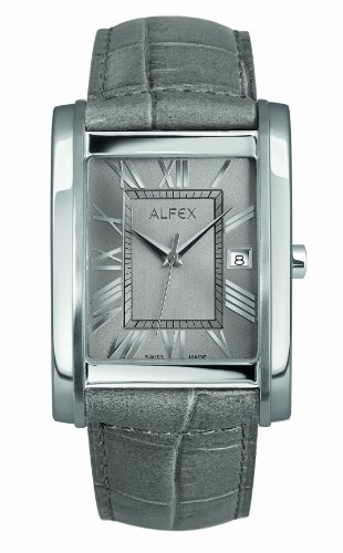Alfex men's Quartz Watch Analogue Display and Leather Strap 5667_828