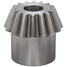 "Boston Gear PA638Y-P Bevel Pinion Gear, 3:1 Ratio, 0.750"" Bore, 8 Pitch, 16 Teeth, 20 Degree Pressure Angle, Straight Bevel, Steel"