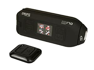 Drift Innovation HD170 Stealth Action Camera with HD Recording, 4x Digital Zoom and 1.5-Inch LCD Screen (Black)