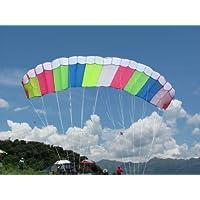 Skywalker 3 M Dual Line Control Parafoil Parachute Stunt Sport Kite Park Beach Garden Fun