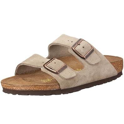 Birkenstock Arizona 51461, Chaussures mixte adulte - Taupe, 35 (normal) EU