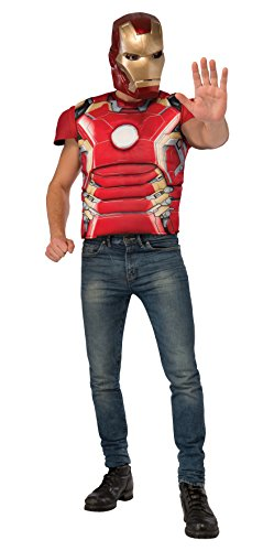 Rubie's Costume Co Men's Avengers 2 Adult Iron Man Mark 43 Inch Muscle Costume