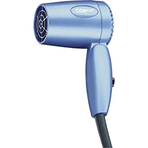 Conair Hair Dryer Dual Voltage 1600 Watt Blue On Popscreen