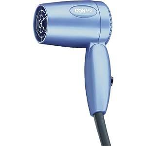 Amazon Com Conair Hair Dryer Dual Voltage 1600 Watt Blue