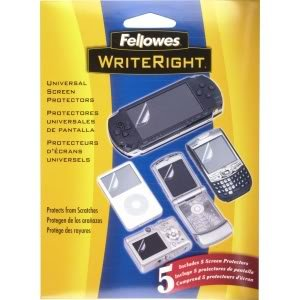 Premium Screen Protector 5 Pack for your SAMSUNG Impression Phone from Fellowes! Protect your precious screen with this durable protector micro thin universal clear guard! (Universal + 90 Day Warranty)