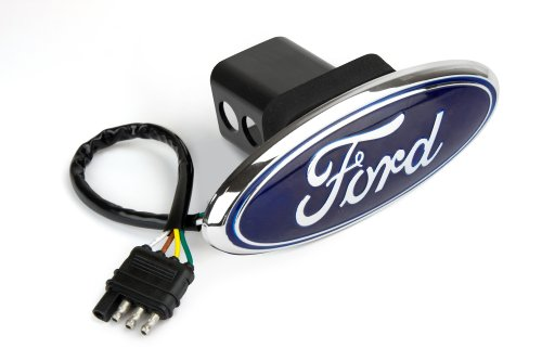 Reese Towpower 86065 Licensed LED Hitch Light Cover with Ford Logo (Reese Receiver Hitch Cover compare prices)